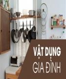 Từ vựng tiếng Anh các vật dụng thường gặp trong nhà