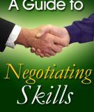 Một số kỹ năng đàm phán