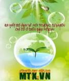 Bài giảng về Phân tích môi trường