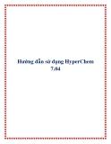 Hướng dẫn sử dụng HyperChem 7.04
