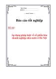 Chuyên đề thực tập : Áp dụng pháp luật về cổ phần hóa doanh nghiệp nhà nước ở Hà Nội