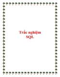 Trắc nghiệm SQL