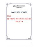 Đồ án tốt nghiệp: HỆ THỐNG PHUN XĂNG ĐIỆN TỬ EFI /TCCS