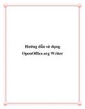 Hướng dẫn sử dụng OpenOffice.org Writer