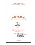 Tủ sách kỹ sư: Phương pháp đo bóc khối lượng xây dựng công trình