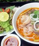 Các món ăn truyền thống Việt Nam