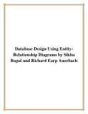 Database Design Using Entity-Relationship Diagrams by Sikha Bagui and Richard Earp Auerbach