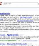 Cách search mọi dữ liệu từ Google