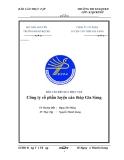 Báo cáo thực tập :Công ty cổ phần luyện cán thép Gia Sàng