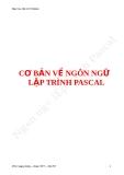 CƠ BẢN VỀ NGÔN NGỮ LẬP TRÌNH PASCAL
