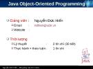 Bài giảng Lập trình cơ sở dữ liệu JDBC - Chương 8