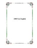 1500 Test English