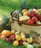 Những thực phẩm tác  dụng giảm cân tốt nhất