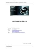 GIÁO TRÌNH 3DS MAX 9.0