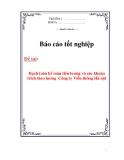 Báo cáo tốt nghiệp: Hạch toán kế toán tiền lương và các khoản trích theo lương  Công ty Viễn thông Hà Nội