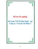 Đồ án tốt nghiệp Kế toán TSCĐ hữu hình tại Công ty Truyền tải Điện 1