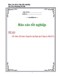Báo cáo tốt nghiệp: Tổ chức kế toán Nguyên vật liệu tại Công ty Dệt 8-3