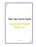 Thực Tập Chuyên Ngành  Lập trinh Visual Basic 6.0