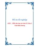 Đồ án tốt nghiệp APEC - Diễn đàn hợp tác kinh tế Châu Á Thái Bình Dương
