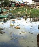 """Báo cáo đề tài """"Ô nhiễm môi trường nước"""""""