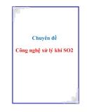 Chuyên đề: Công nghệ xử lý khí SO2