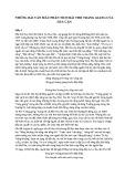 Những bài văn mẫu phân tích bài thơ Tràng giang của Huy Cận