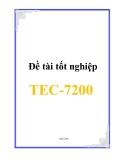 Đề tài tốt nghiệp TEC-7200