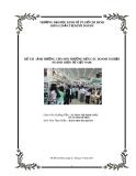 """Báo cáo tốt nghiệp """"ẢNH HƯỞNG CỦA MÔI TRƯỜNG ĐẾN CÁC DOANH NGHIỆP NGÀNH ĐIỆN TỬ VIỆT NAM"""""""