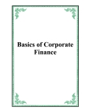 Basics of Corporate Finance