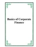 Basics of Corporate Finance