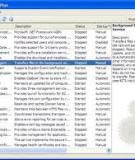 Các dịch vụ (Services) của Windows