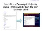 Hướng dẫn xây dựng Website bằng CSS