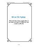 Đồ án Tốt Nghiệp Phân tích thực trạng và giải pháp về tài chính của công ty TNHH sản xuất và dịch vụ Bắc Hà