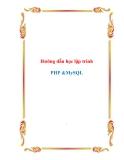 Hướng dẫn học lập trình  PHP &MySQL