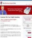 Grammar Kills Your English Speaking
