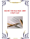 Đề thi thử đại học 2009 chọn lọc