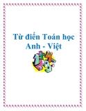 Tham khảo về Từ điển Toán học Anh - Việt