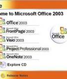 Access 2003: Đặt thuộc tính cho Table