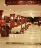 Bài tập:  Quản lý nhà hàng khách sạn