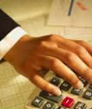Các bài tập ôn về kế toán tài chính