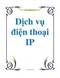 Dịch vụ điện thoại IP