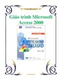 Giáo trình về Microsoft Access 2000