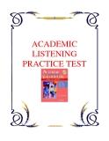 ACADEMIC LISTENING PRACTICE TEST