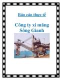 Báo cáo thực tế Công ty xi măng Sông Gianh