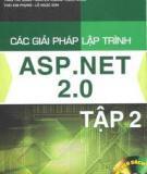 Ebook Các giải pháp lập trình ASP.NET 2.0: Tập 2 - NXB Hồng Đức
