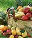 Những bài thuốc hay trị bệnh bằng trái cây