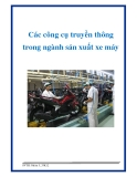 Các công cụ truyền thông trong ngành sản xuất xe máy