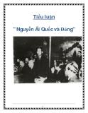 """Tiểu luận """" Nguyễn Ái Quốc và Đảng"""""""