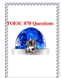 Ôn tập TOEIC 870 Questions
