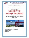 Tiểu luận: Tình hình áp dụng INCOTERMS tại Việt Nam